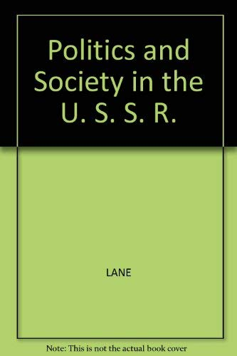 9780855202293: Politics and Society in the U. S. S. R.