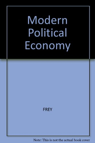9780855202354: Modern Political Economy