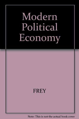 9780855203672: Modern Political Economy