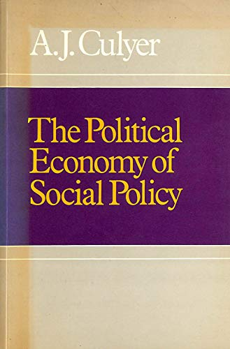 9780855203702: Political Economy of Social Policy