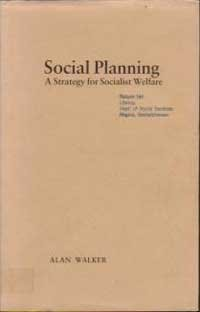 9780855204532: Social Planning: A Strategy for Socialist Welfare (Aspects of Social Policy)