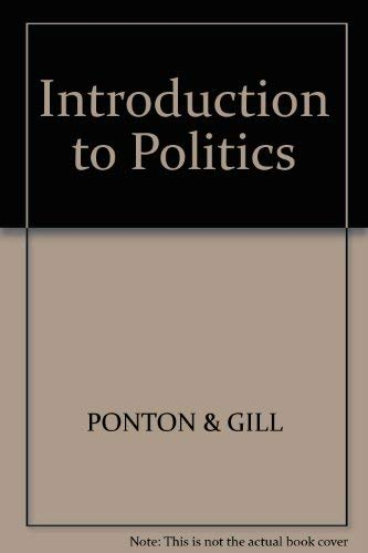 9780855204679: Introduction to Politics