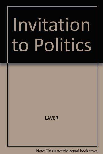 9780855205737: Invitation to Politics