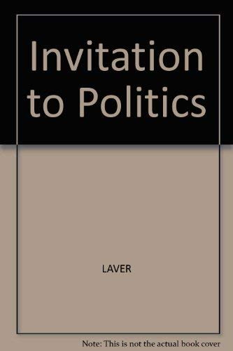 9780855205737: Invitation to Politics