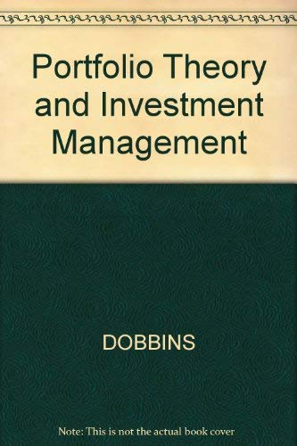 9780855206215: Portfolio Theory and Investment Management