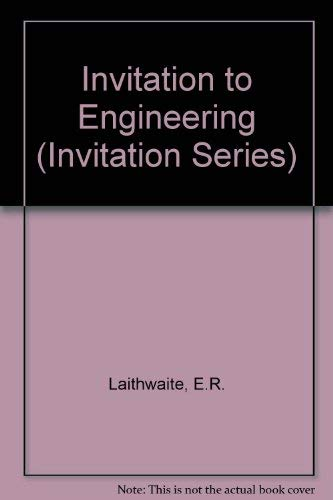 9780855206611: Invitation to Engineering (Invitation Series)