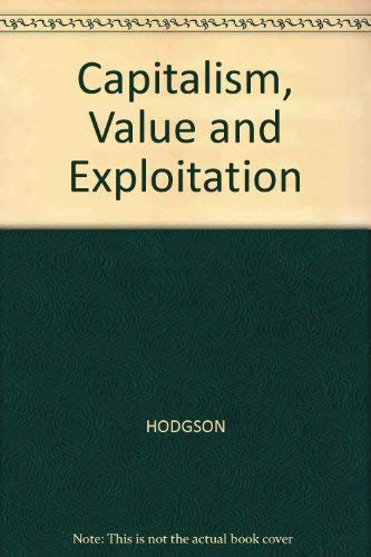 9780855206949: Capitalism, Value and Exploitation