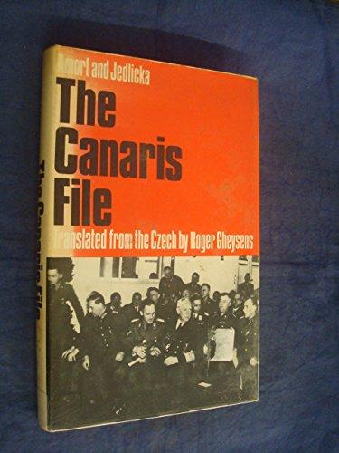 9780855230098: The Canaris File