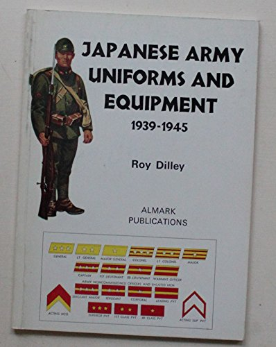 9780855240059: Japanese Army Uniforms and Equipment, 1939-45