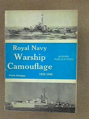 9780855241391: Royal Navy Warship Camouflage, 1939-1945