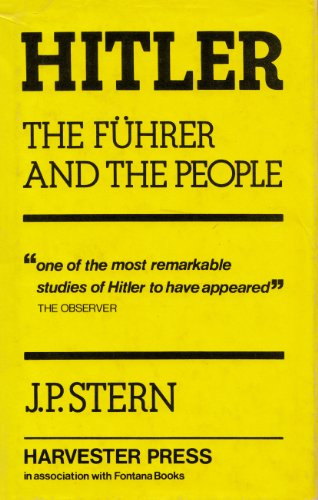 9780855270094: Hitler: The Fuhrer and the People