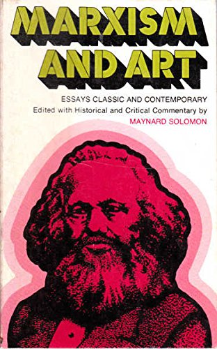 9780855271282: Marxism and Art: Essays Classic and Contemporary