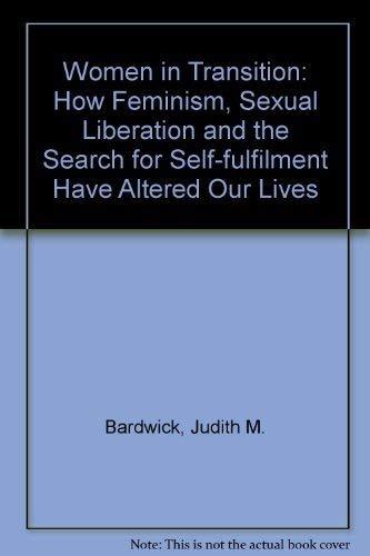 Women in Transition: Bardwick Judith M