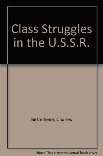 9780855275211: Class Struggles in the U.S.S.R.: 2nd Period, 1923-30