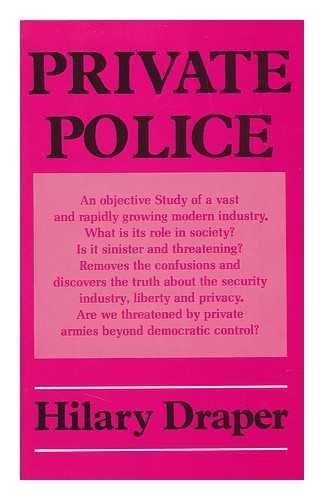 9780855275631: Private Police