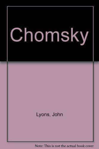 9780855276904: Chomsky