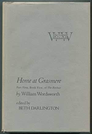 Home at Grasmere:Part First,Book First,of The Recluse: Wordsworth,William