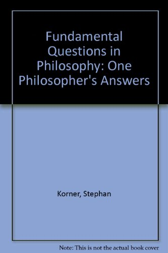 9780855278380: Fundamental Questions in Philosophy: One Philosopher's Answers