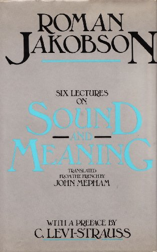 9780855278410: Six Lectures on Sound and Meaning