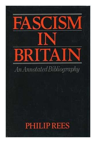 9780855279110: Fascism in Britain: Annotated Bibliography