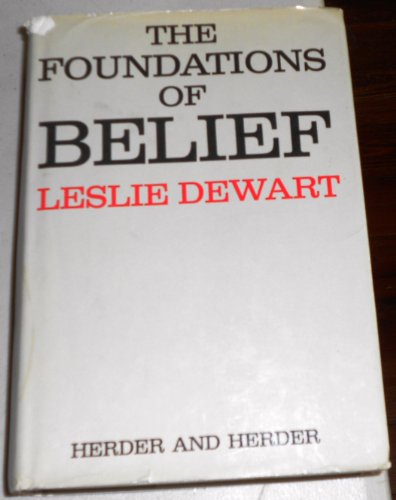9780855320553: The Foundations of Belief