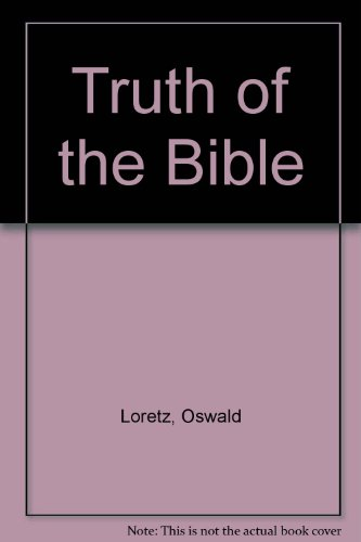 9780855320966: Truth of the Bible