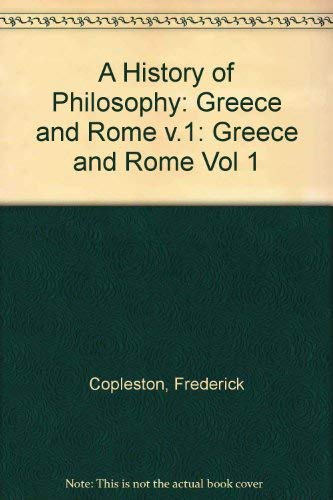 9780855321819: History of Philosophy: Greece and Rome