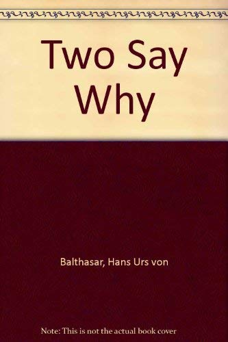 9780855322892: Two Say Why