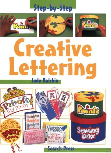 9780855329075: Creative Lettering (Step-by-Step Children's Crafts)
