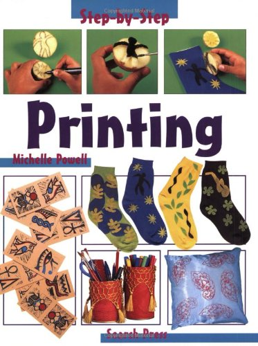 9780855329112: Printing (Step-by-Step Children's Crafts)