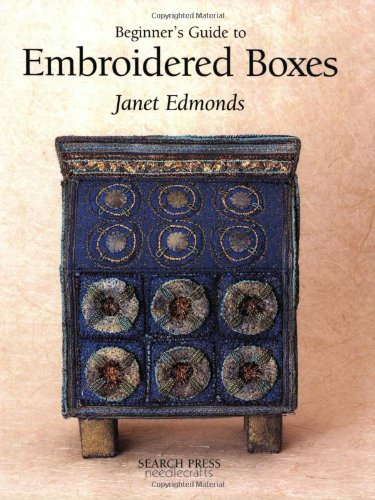 9780855329297: Beginner's Guide to Embroidered Boxes