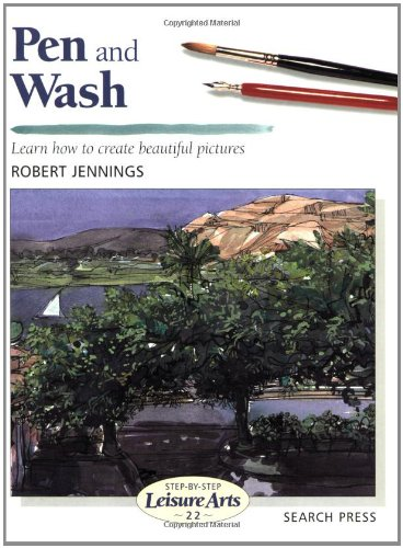 9780855329662: Pen and Wash (Step-by-Step Leisure Arts)