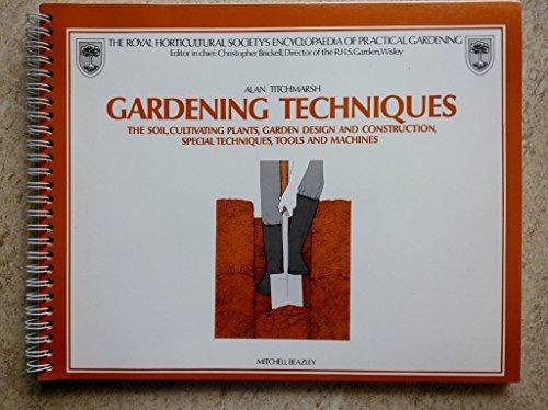 9780855332921: Gardening Techniques