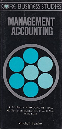 9780855334451: Management Accounting (Core Business Studies)