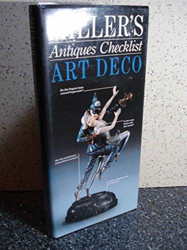 9780855338886: Miller's Antiques Checklist: Art Deco