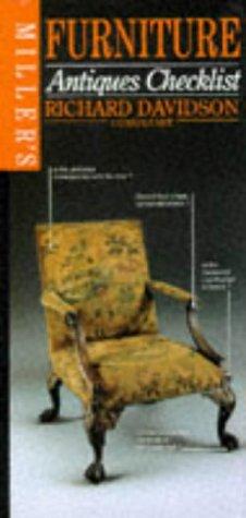 9780855338893: Furniture (Miller's Antiques Checklist)