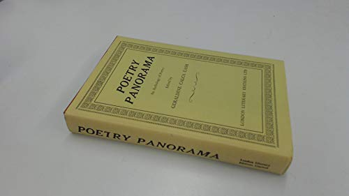 Poetry panorama: An anthology of poetry