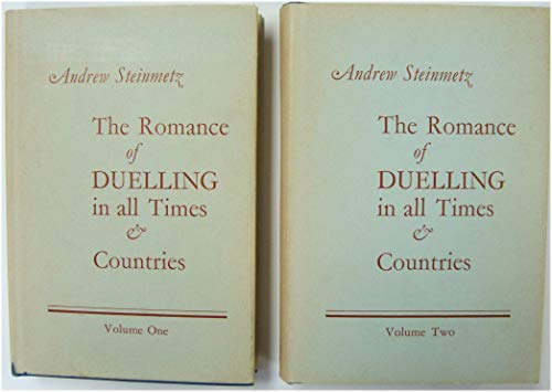 9780855461607: Romance of Duelling in All Times and Countries