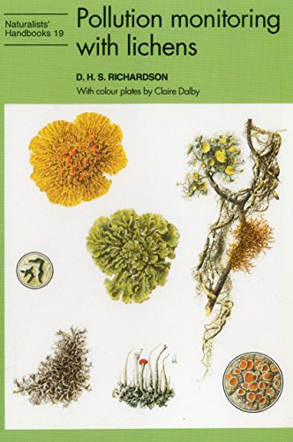 9780855462895: Pollution Monitoring with Lichens (Naturalists' Handbooks)