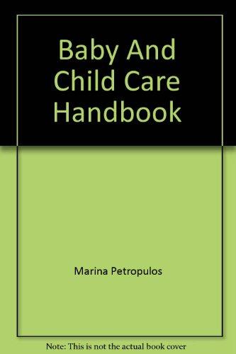9780855508586: Baby And Child Care Handbook