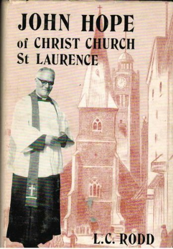 John Hope of Christ Church: A Sydney: Rodd, L. C.