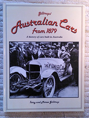 Australian Cars from 1879: Gilltrap, Terry Maree