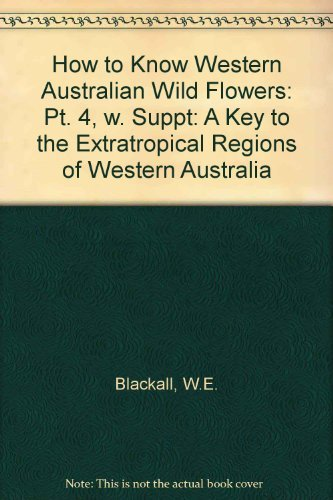 9780855641979: How Know W Aust Wildf 3 (Pt. 4)