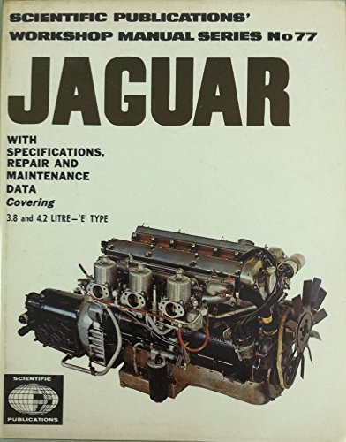 9780855660260: Jaguar 3.8, 4.2 E Type 1962-69 Workshop Manual