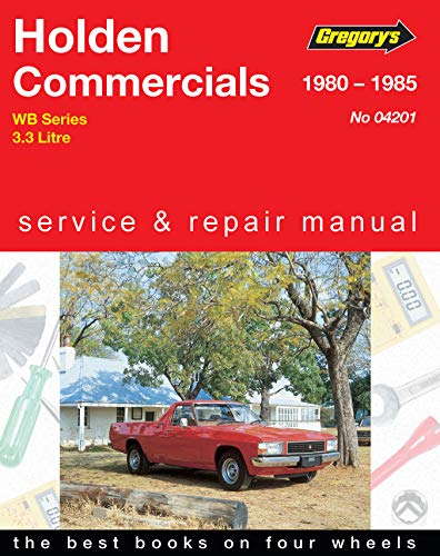 9780855665456: Holden Wb Commercial 6cyl (1980-85)