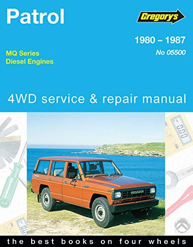 9780855666101: Nissan Patrol Mq Series 1980-1986, Turbo and Non-Turbo Diesel Engines (Gregory's service & repair manual)