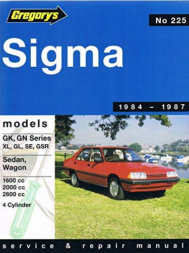 9780855666538: Mitsubishi Sigma Gk Gn 1984-87: Sedans Sigma-Gl-SE-Gsr, Wagons Sigma-Gl SE with Saturn 1600 Ohc Engine and Astron 2000-2600 Ohc Engine, 1984-1987, No. 225