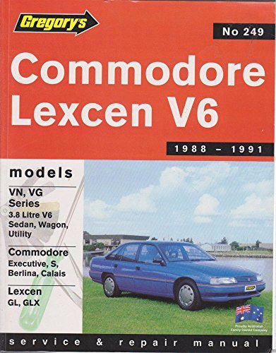 9780855667085: Holden Commodore Vn, VG / Toyota Lexcen Vn 6cyl (1988-91): Product Code 249