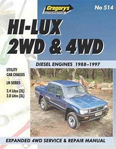 9780855667726: Toyota Hilux Diesel (1988-97)