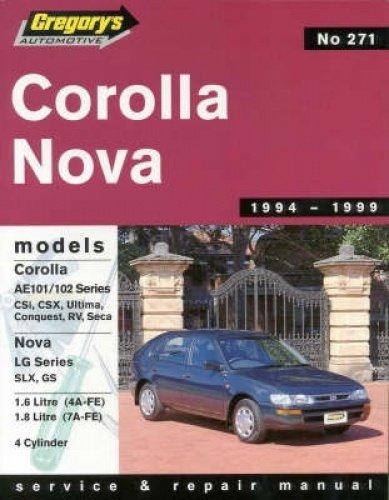 9780855667788: Toyota Corolla/Holden Nova Lg (1994-98)